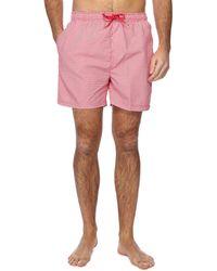 Red Herring - Red Geometric Print Swim Shorts - Lyst