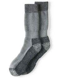 Lands' End - Grey Snow Pack Boot Socks - Lyst