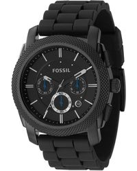 Fossil - Men's Black Round Face Chronological Watch Fs4487 - Lyst