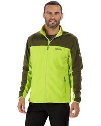 Regatta - Green 'stanton' Full Zip Fleece - Lyst