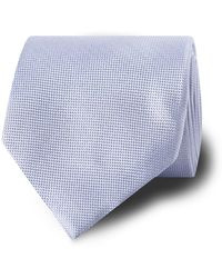 Tm Lewin - Light Blue Silk Tie - Lyst