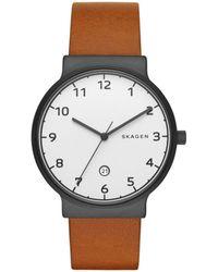 Skagen - Mens Ancher Watch Skw6297 - Lyst