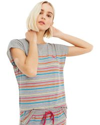 Oasis - Candy Stripe Tee - Lyst