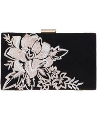 Coast - Floral Embroidered 'remi' Clutch Bag - Lyst