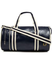 Fred Perry - Navy 'classic' Barrel Bag - Lyst