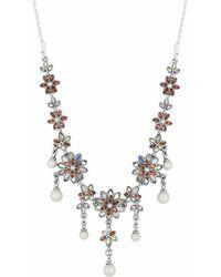 Jenny Packham - Designer Floral Toggle Necklace - Lyst