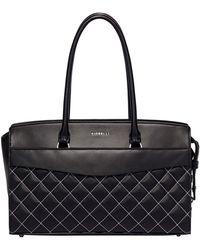 Fiorelli - Black Islington Flapover Tote Bag - Lyst