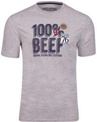 Raging Bull - Big And Tall Badge T-shirt - Lyst