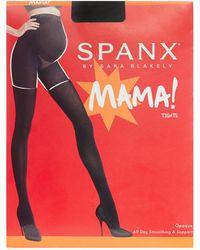 Spanx - Black Opaque 70 Denier Maternity Shapewear Tights - Lyst