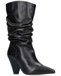 Carvela Kurt Geiger - 'scrunch' High Heel Calf Boots - Lyst