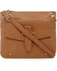 Kangol - Tan Shoulder Bag - Lyst
