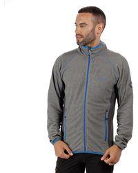 Regatta - Grey 'mons' Full Zip Fleece - Lyst