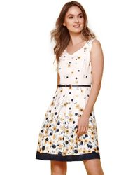 f3b3b70d4bf0f Glamorous Midi Shirt Dress With Pleated Skirt In Buttercup Floral in ...