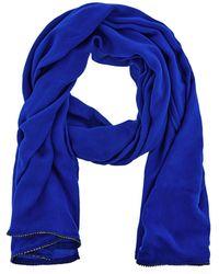 Coast - Cobalt Blue 'janey' Diamante Scarf - Lyst
