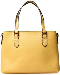 Dorothy Perkins - Yellow Mini Trapeze Tote Bag - Lyst