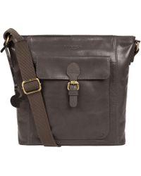 a0fbbdb1c996 Conkca London - Slate  vonda  Handcrafted Leather Cross-body Bag - Lyst