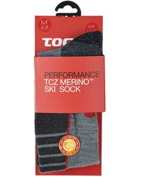 Tog 24 - Grey Marl Alpach Merino Ski Socks - Lyst