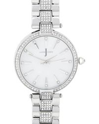 J By Jasper Conran - Designer Ladies Silver Crystal Watch - Lyst