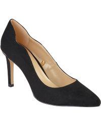 Lotus - Black Diamante 'star' High Stiletto Heel Pointed Shoes - Lyst