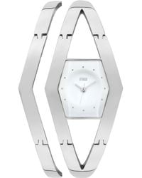 Storm - Ladies Silver 'zarelle' Bracelet Watch - Lyst