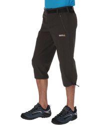 Regatta - Grey Xert Stretch Capri Trousers - Lyst