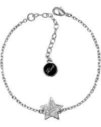 Karl Lagerfeld - Pave Star Bracelet Created With Swarovski Crystals - Lyst