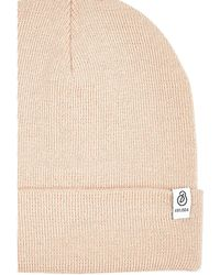 Burton - Cream Lightweight Beanie Hat - Lyst