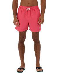 Regatta - Pink 'mawson' Swim Shorts - Lyst