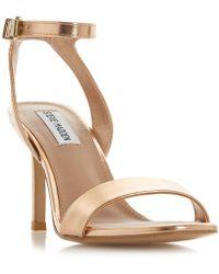 adcce2ee06b1 Steve Madden - Rose  faith   Stiletto Heel Ankle Strap Sandals - Lyst