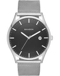 Skagen - Men's Silver 'hagen' Watch Skw6284 - Lyst