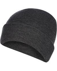 03da41b4606 Red Herring Wine Red Twist Knit Beanie Hat for Men - Lyst