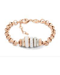 Fossil - Classic Rose Bracelet - Lyst