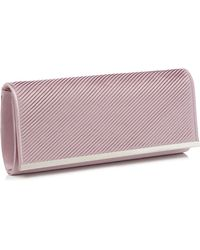 67ce468337 New Look Lilac Glitter Box Clutch Bag in Purple - Lyst