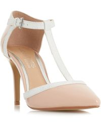 Dune - Mid Rose 'carlina' High Stiletto Heel Court Shoes - Lyst