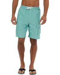 Regatta - Green 'hotham' Swim Board Shorts - Lyst