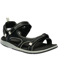Regatta - Black 'lady Ad-flo' Sandals - Lyst