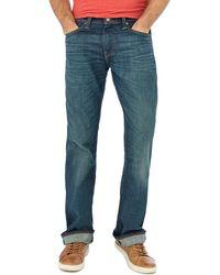 Levi's - Blue '527' 'explorer' Slim Bootcut Jeans - Lyst