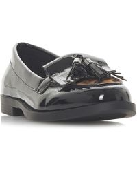 Dune - Black 'gust' Loafers - Lyst
