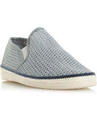 40df887af ALDO Daleni Mesh Boat Shoes for Men - Lyst