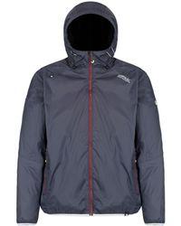 Regatta - Grey 'tarren' Waterproof Hooded Jacket - Lyst