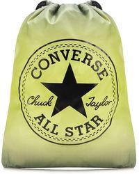 76a6896242 Converse - Yellow  all Star  Cinch Sack Bag - Lyst