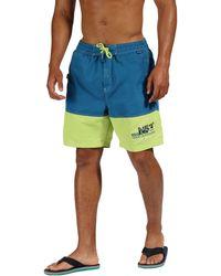 Regatta - Blue 'bratchmar' Swim Shorts - Lyst