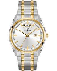 Bulova - Men's Multi-coloured Bracelet Watch - Lyst
