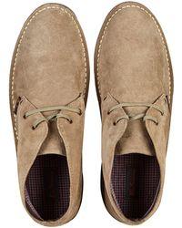 Burton - Sand Suede Desert Boots - Lyst