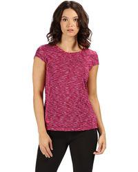 Regatta - Pink 'hyper Dimension' T-shirt - Lyst