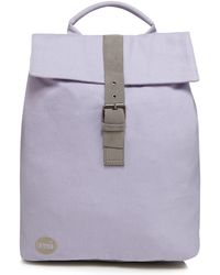 Mi-Pac - Lilac 'canvas Day Pack' Backpack - Lyst