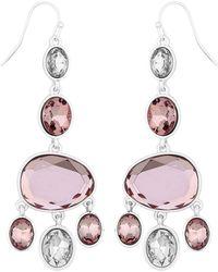 J By Jasper Conran - Designer Crystal Chandelier Earrings - Lyst