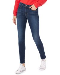 Levi's - Blue Mid Wash '311 Shaping Skinny' Jeans - Lyst