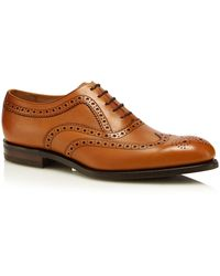 Loake - Brown Leather 'bovey' Brogues - Lyst