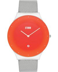 Storm - Unisex Silver 'terelo' Analogue Bracelet Watch - Lyst
